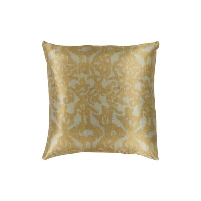 Tatum Polyester Throw Pillow Size: 18 H x 18 W, Color: Sea Foam/Mustard