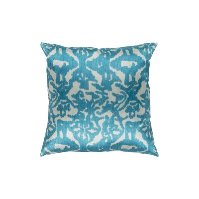 Tatum Polyester Pillow Cover Size: 18 H x 18 W, Color: Sea Foam/Teal