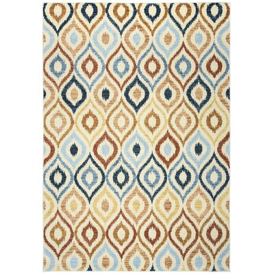Anthony Ivory Area Rug Rug Size: 710 x 1010