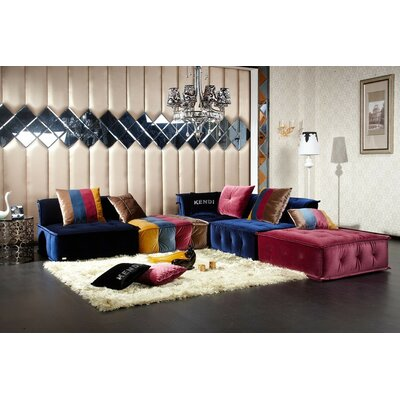 Aidy Modular Sectional with ottoman