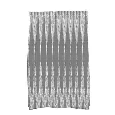 Arlo Geometric Hand Towel Color: Black