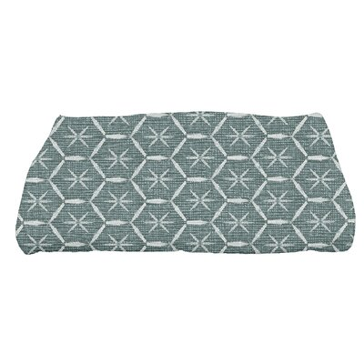 Arlo Asterisk Geometric Bath Towel Color: Green