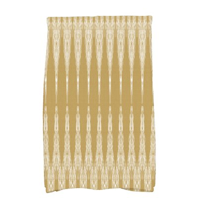 Arlo Geometric Hand Towel Color: Gold