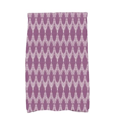 Arlo Mudcloth Geometric Hand Towel Color: Purple