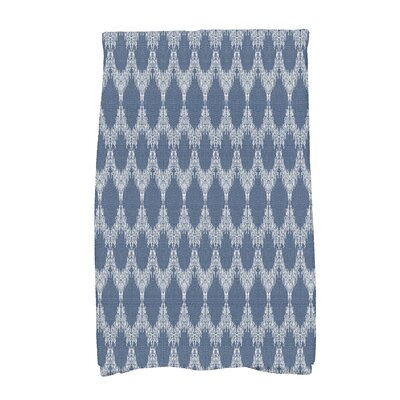 Molly Mudcloth Geometric Hand Towel Color: Blue