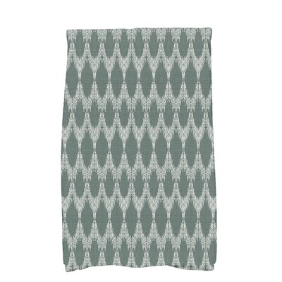 Arlo Mudcloth Geometric Hand Towel Color: Green