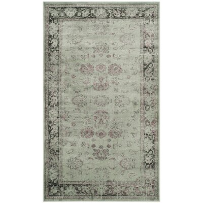 Makenna Spruce Area Rug Rug Size: Rectangle 33 x 57