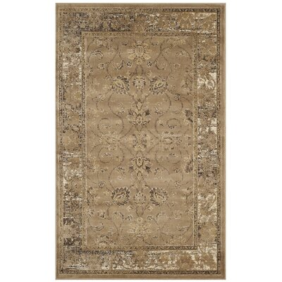 Todd Taupe Area Rug Rug Size: Rectangle 27 x 4