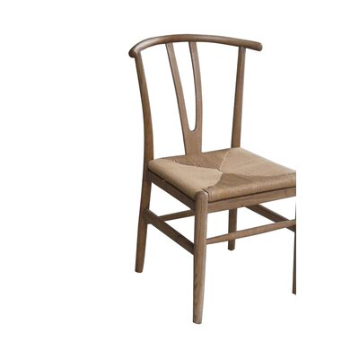 Bungalow Rose Tansy Solid Wood Dining Chair