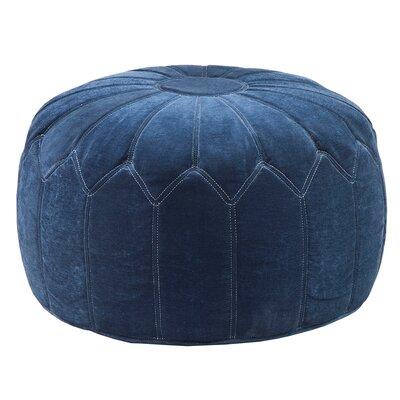 Arlene Pouf Upholstery: Blue