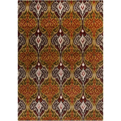 Bower Hand-Woven Gold Area Rug Rug Size: Rectangle 8 x 11