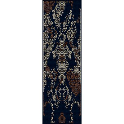 Bower Hand-Woven Marine Blue Area Rug Rug Size: Runner 2'6