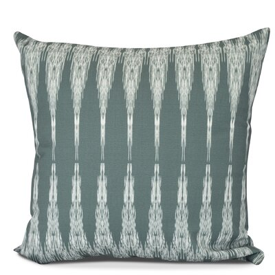 Molly Peace 1 Geometric Outdoor Throw Pillow Size: 20 H x 20 W, Color: Green