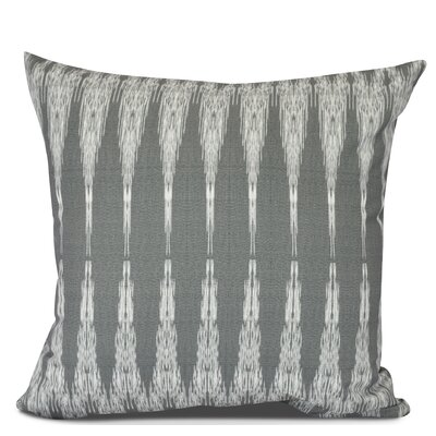 Arlo Geometric Outdoor Throw Pillow Size: 18 H x 18 W, Color: Black