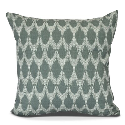 Arlo Geometric Outdoor Throw Pillow Color: Green, Size: 18 H x 18 W