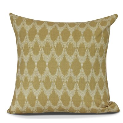 Arlo Geometric Outdoor Throw Pillow Size: 18 H x 18 W, Color: Gold