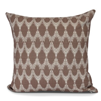 Arlo Throw Pillow Size: 16 H x 16 W, Color: Maroon