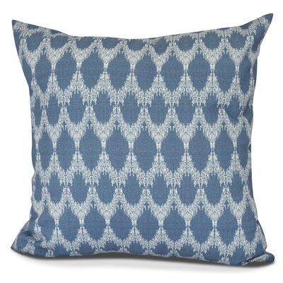 Molly Peace 2 Throw Pillow Color: Blue, Size: 18 H x 18 W