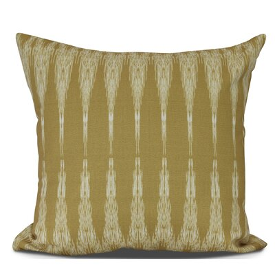 Arlo Geometric Throw Pillow Size: 16 H x 16 W, Color: Gold