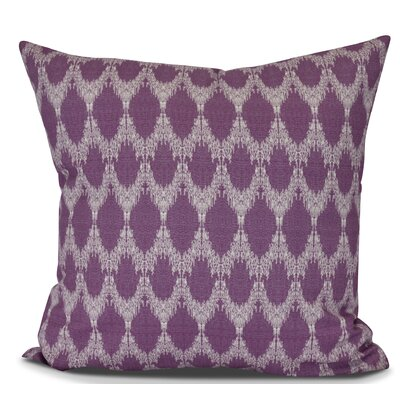 Arlo Throw Pillow Size: 16 H x 16 W, Color: Purple