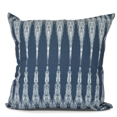 Arlo Geometric Throw Pillow Color: Navy Blue, Size: 18 H x 18 W