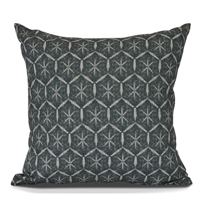 Arlo Tufted Geometric Throw Pillow Size: 26 H x 26 W, Color: Black