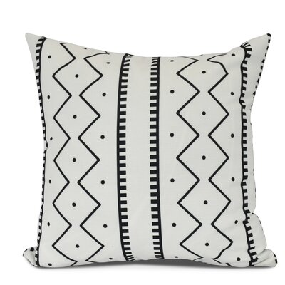 Arlo Polyester Throw Pillow Size: 16 H x 16 W, Color: Cream