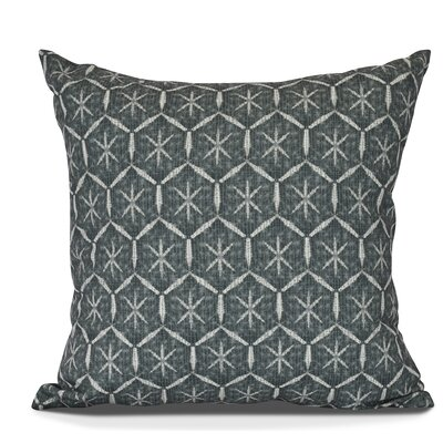 Arlo Tufted Geometric Throw Pillow Size: 16 H x 16 W, Color: Green