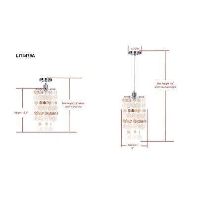 Amersfoort 1-Light Mini Pendant