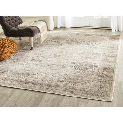 Makenna Stone Area Rug Rug Size: Rectangle 53 x 76