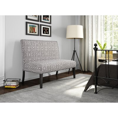 Oberlin Tribal Print Upholstered Settee