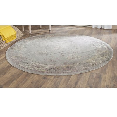 Makenna Grey/Multi Area Rug Rug Size: Square 6