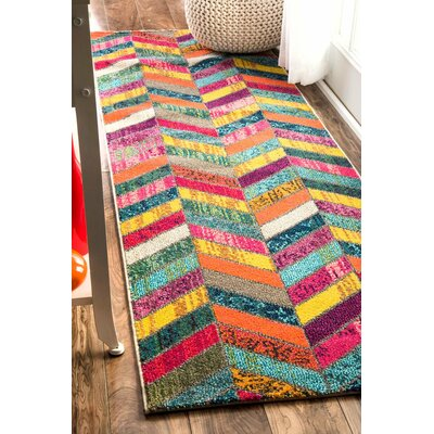 Fleming Area Rug Rug Size: Runner 26 x 8