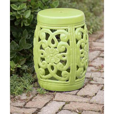 Augusta Garden Stool Finish: Green