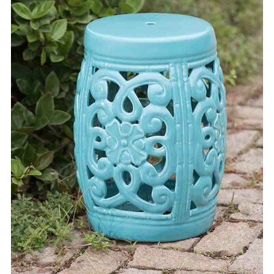 Augusta Garden Stool Finish: Blue