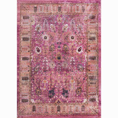 Manhattan Pink Area Rug Rug Size: 27 x 311