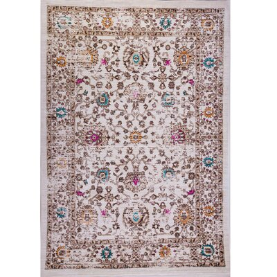 Manhattan Beige/Brown Area Rug Rug Size: 311 x 56