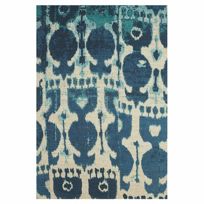 Anderson Hand-Loomed Dark Blue Area Rug Size: Rectangle 4 x 6