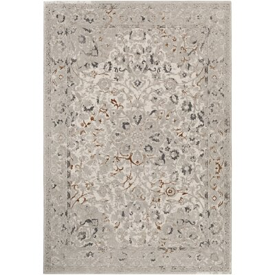 Peachtree Cream Area Rug Rug Size: 2 x 3