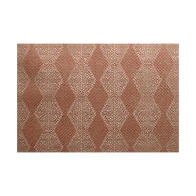 Soluri Brown / Beige Indoor/Outdoor Area Rug Rug Size: 2 x 3