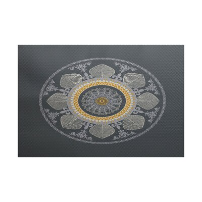 Soluri Gray Indoor/Outdoor Area Rug Rug Size: 2 x 3