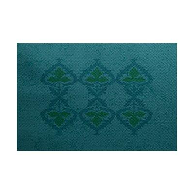 Soluri Blue Indoor/Outdoor Area Rug Rug Size: 2 x 3