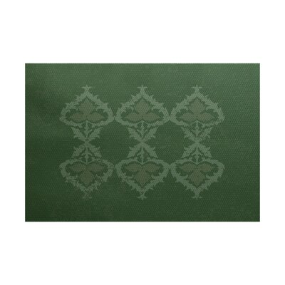 Soluri Dusty Green Indoor/Outdoor Area Rug Rug Size: 3 x 5