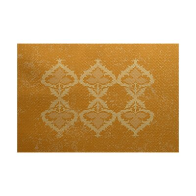 Soluri Gold Indoor/Outdoor Area Rug Rug Size: Rectangle 3 x 5