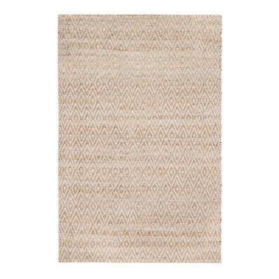 Spirgel Hand-Woven Tan/Gray Area Rug Rug Size: Runner 26 x 8