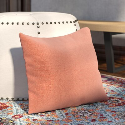 Majorelle Outdoor Throw Pillow Color: Echo Sangria