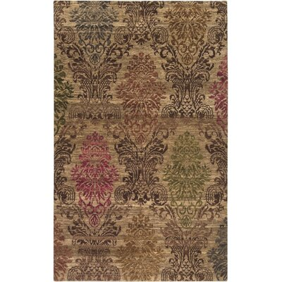 Urrutia Tan Area Rug Rug Size: Rectangle 2 x 3