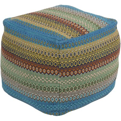 Lilou Pouf Upholstery: Yellow/Green