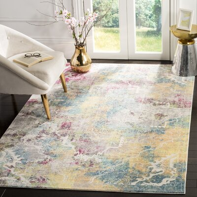 Shubhada Multi-color Area Rug Rug Size: Runner 23 x 8