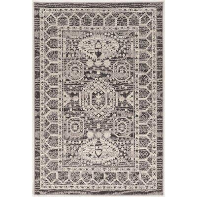 Coleharbor Ivory/Gray Area Rug Rug Size: 8 x 10